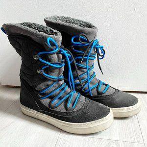 Aldo Thessa Black Snow Boots